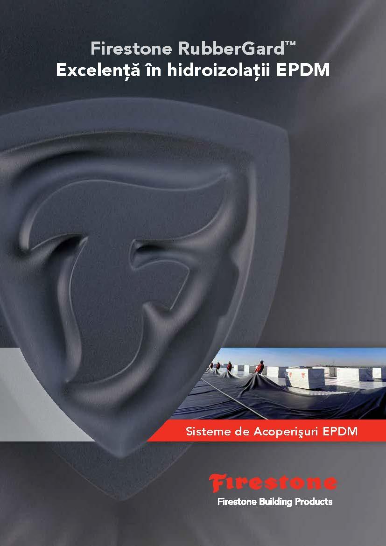 Catalog/broșură sisteme de hidroizolație RubberGard EPDM pentru acoperișuri plate/tip terasă