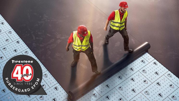 RubberGard membrană pentru acoperiș împlinește 40 de ani
